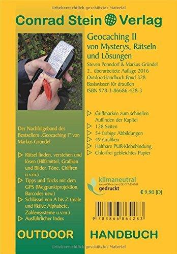 Geocaching II von Mysterys, Rätseln und Lösungen (Basiswissen für draußen) -