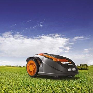 Worx Landroid M800i |MI | Smarter Mähroboter mit App-Steuerung für bis zu 800 m² - 5