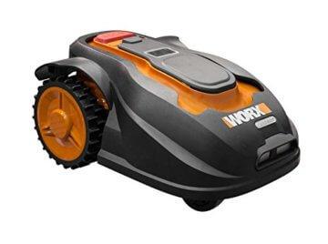 Worx Landroid M1000i Mähroboter – Automatischer Rasenmäher für bis zu 1000 qm mit WLAN-Verknüpfung (App-Steuerung) und verstellbarer Schnitthöhe – 55 x 38,5 x 26 cm (L x B x H) - 3