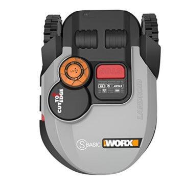 Worx Landroid S-Basic Mähroboter in Grau – Automatischer Rasenmäher für bis zu 300 qm mit AIA Technik für präzise Mäharbeit - 2