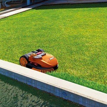 Worx Landroid SO500i Mähroboter – Automatischer Rasenmäher für bis zu 500 qm mit WLAN-Verknüpfung (App-Steuerung) und verstellbarer Schnitthöhe – 54,2 x 40,1 x 23,6 cm (L x B x H) - 3