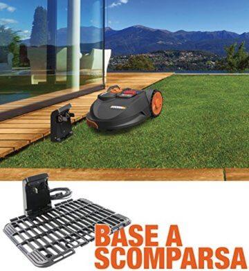 Worx Landroid SO500i Mähroboter – Automatischer Rasenmäher für bis zu 500 qm mit WLAN-Verknüpfung (App-Steuerung) und verstellbarer Schnitthöhe – 54,2 x 40,1 x 23,6 cm (L x B x H) - 9