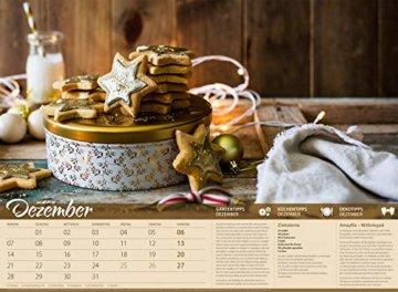 Landliebe 2020, Wandkalender im Querformat (45x33 cm) - Gartenkalender / Landleben mit Tipps zu Garten, Küche und Dekoration mit Monatskalendarium - 13
