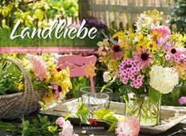 Landliebe 2020, Wandkalender im Querformat (45x33 cm) - Gartenkalender / Landleben mit Tipps zu Garten, Küche und Dekoration mit Monatskalendarium - 1