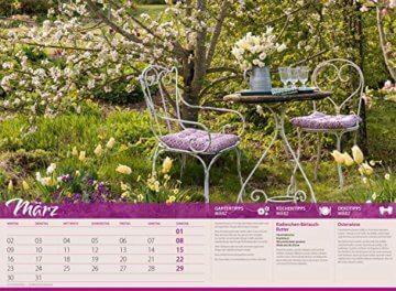 Landliebe 2020, Wandkalender im Querformat (45x33 cm) - Gartenkalender / Landleben mit Tipps zu Garten, Küche und Dekoration mit Monatskalendarium - 4