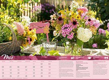 Landliebe 2020, Wandkalender im Querformat (45x33 cm) - Gartenkalender / Landleben mit Tipps zu Garten, Küche und Dekoration mit Monatskalendarium - 6
