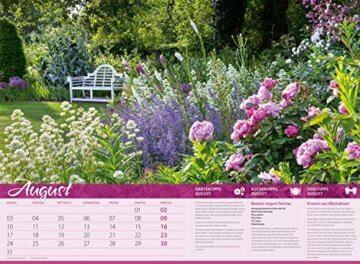 Landliebe 2020, Wandkalender im Querformat (45x33 cm) - Gartenkalender / Landleben mit Tipps zu Garten, Küche und Dekoration mit Monatskalendarium - 9