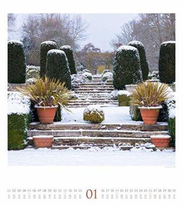 Paradiesische Gärten 2020, Wandkalender im Hochformat (48x54 cm) - Gartenkalender mit Monatskalendarium - 2