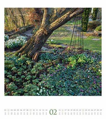 Paradiesische Gärten 2020, Wandkalender im Hochformat (48x54 cm) - Gartenkalender mit Monatskalendarium - 3