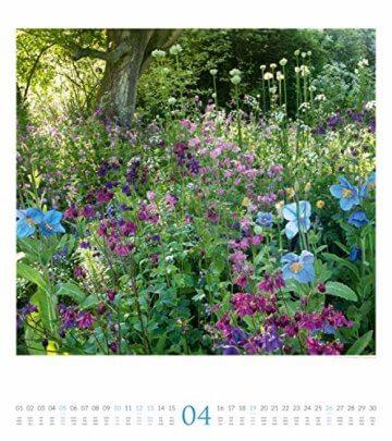 Paradiesische Gärten 2020, Wandkalender im Hochformat (48x54 cm) - Gartenkalender mit Monatskalendarium - 5