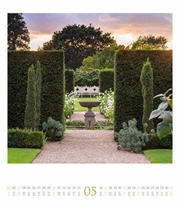 Paradiesische Gärten 2020, Wandkalender im Hochformat (48x54 cm) - Gartenkalender mit Monatskalendarium - 6