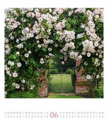 Paradiesische Gärten 2020, Wandkalender im Hochformat (48x54 cm) - Gartenkalender mit Monatskalendarium - 7