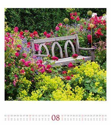Paradiesische Gärten 2020, Wandkalender im Hochformat (48x54 cm) - Gartenkalender mit Monatskalendarium - 9