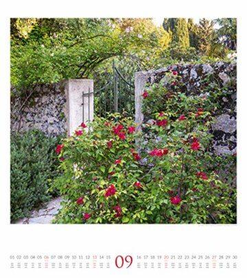 Paradiesische Gärten 2020, Wandkalender im Hochformat (48x54 cm) - Gartenkalender mit Monatskalendarium - 10