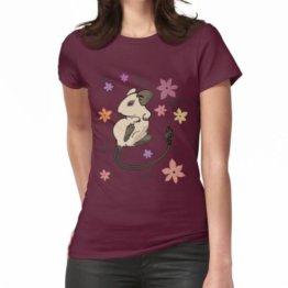 Degu Degoo Blumen Frauen T-Shirt