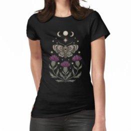 Distel und Motte Frauen T-Shirt