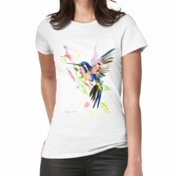 Fliegender Kolibri Frauen T-Shirt