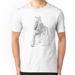 Pferd Slim Fit T-Shirt