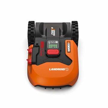 Worx Landroid S WR130E Mähroboter / Akkurasenmäher für kleine Gärten bis 300 qm / Selbstfahrender Rasenmäher für einen sauberen Rasenschnitt - 3