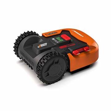 Worx Landroid S WR130E Mähroboter / Akkurasenmäher für kleine Gärten bis 300 qm / Selbstfahrender Rasenmäher für einen sauberen Rasenschnitt - 4