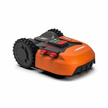 Worx Landroid S WR130E Mähroboter / Akkurasenmäher für kleine Gärten bis 300 qm / Selbstfahrender Rasenmäher für einen sauberen Rasenschnitt - 1