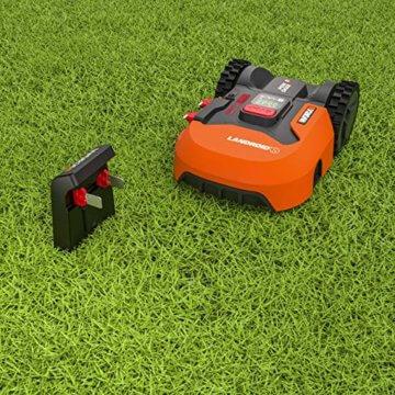 Worx Landroid S WR130E Mähroboter / Akkurasenmäher für kleine Gärten bis 300 qm / Selbstfahrender Rasenmäher für einen sauberen Rasenschnitt - 6