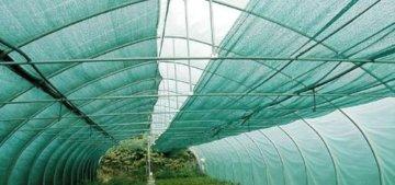 HaGa® Schattiernetz (Meterware)- Netz in 1m Breite mit 60% Schattierwirkung - Sonnenschutzgewebe Sichtschutz für Zaun - Abdunkelung für Gewächshaus und Gemüsegarten - 2