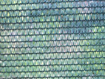 HaGa® Schattiernetz (Meterware)- Netz in 1m Breite mit 60% Schattierwirkung - Sonnenschutzgewebe Sichtschutz für Zaun - Abdunkelung für Gewächshaus und Gemüsegarten - 4