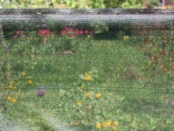 HaGa® Schattiernetz (Meterware)- Netz in 1m Breite mit 60% Schattierwirkung - Sonnenschutzgewebe Sichtschutz für Zaun - Abdunkelung für Gewächshaus und Gemüsegarten - 5